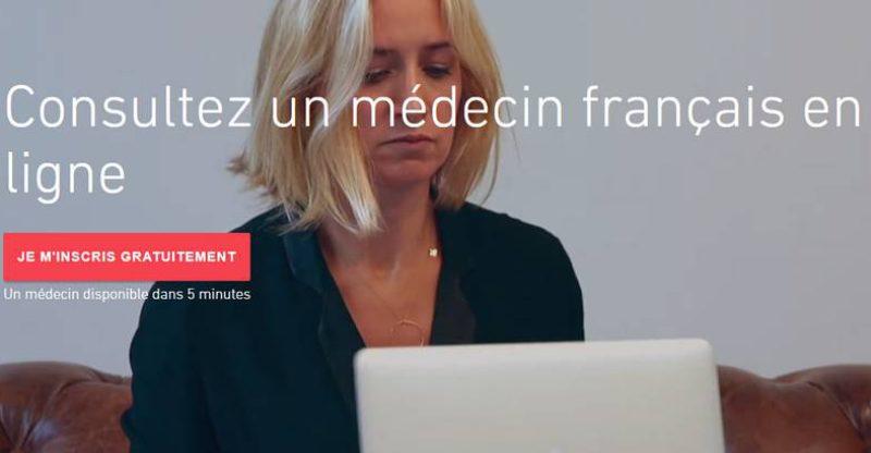 consultation vidéo avec un médecin